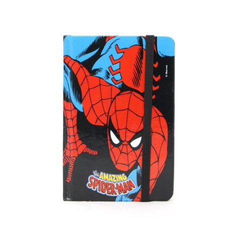 Caderno Moleskine – Homem-Aranha