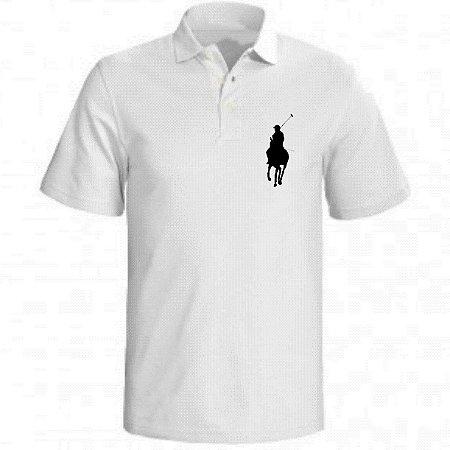 7d545b380a Camisa Polo Branca - Inovart Personalizados