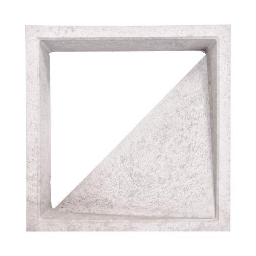 Elemento Vazado Cobogós – TRIANGULO 30x30x7cm
