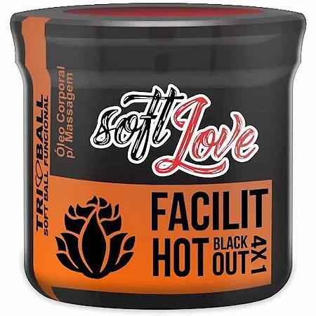 Bolinhas Explosivas Anal Facilit Hot Black Out Soft Ball