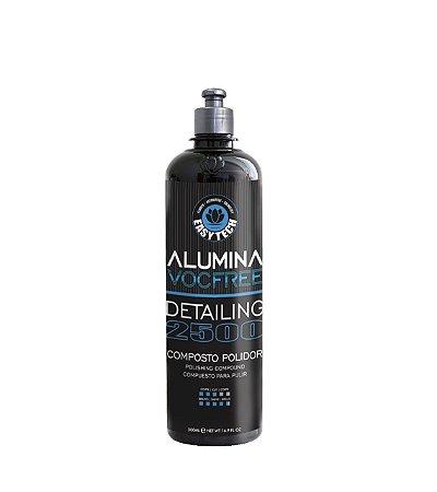 Alumina Detailing 2500 Composto Polidor Refino 500ml - Easytec