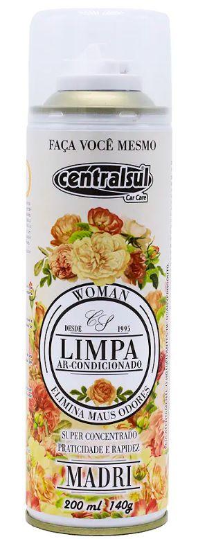Limpa Ar Condicionado Madri 200ml/140g Centralsul