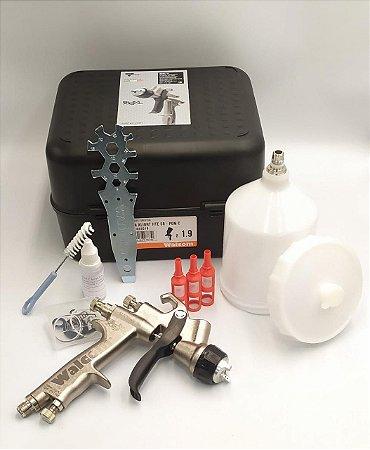 Pistola Pintura Slim X-light Hte Bico 1.9mm - Walcom