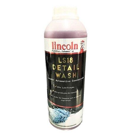Shampoo Super Concentrado 1 Litro 1:400 - Ls18 - Lincoln