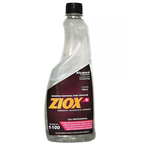 Shampoo Automotivo Concentrado Ziox Alcance 700ml