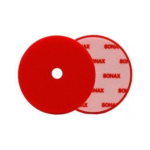 """Boina de Espuma Premium Sonax 5.5"""" Agressiva Vermelha"""