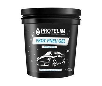 Prot pneu gel pretinho 3,6kg protelim