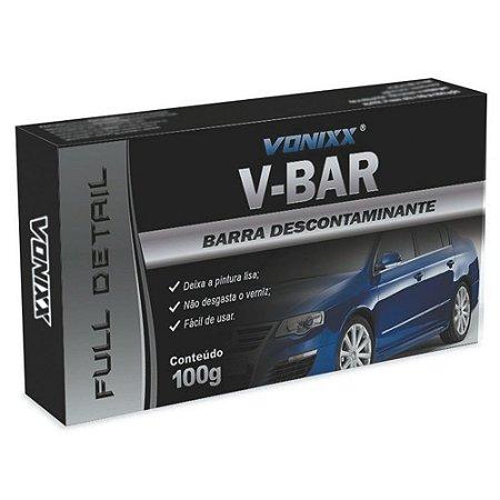 Clay Bar Removedor De Contaminantes Vonixx V-bar 100g