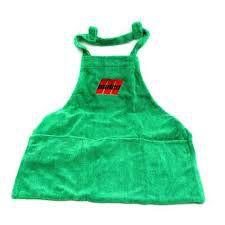 Avental de microfibra verde malco - Malco Pro
