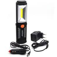Lanterna Luz Front Led Cob3w Recarregável Slp-302 Pro Solver