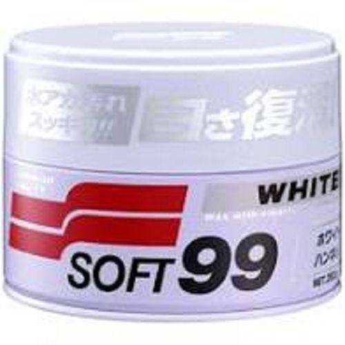 Cera White Cleaner  Para Carros Claros -Soft99- 350g