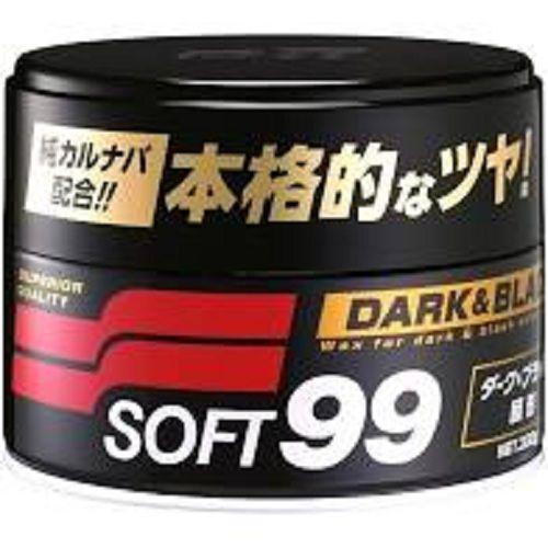 Cera De Carnaúba Dark E Black Pasta Wax Carro Escuro -Soft99