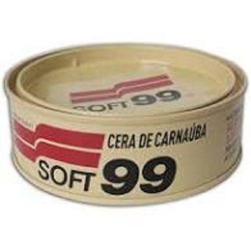 Cera Carnaúba Automotiva 100g Todas As Cores - Soft99