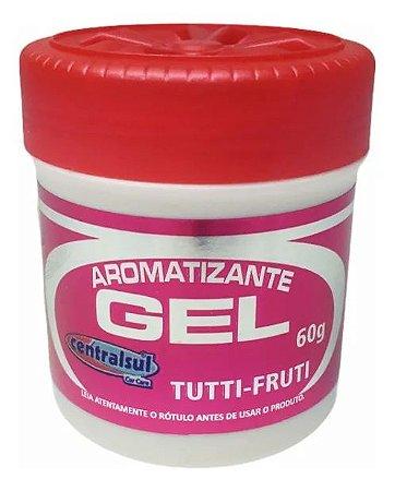 Aromatizador Gel Para Carros Tutti Fruti 60g Centralsul
