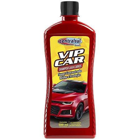 Shampoo Lava Carros 500ml Vip Car - Centralsul