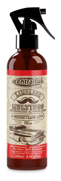 Limpador Multiuso Apc Concentrado Men 250ml Centralsul