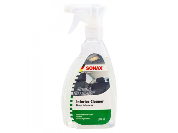 Limpador Interior Cleaner Com Pulverizador 500ml - Sonax