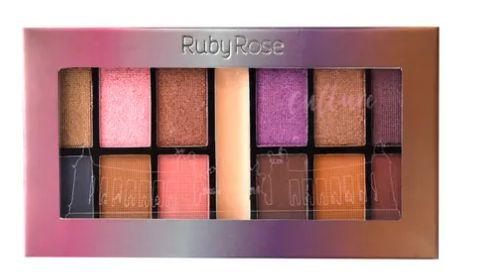 Paleta de Sombras + Primer Culture Ruby Rose