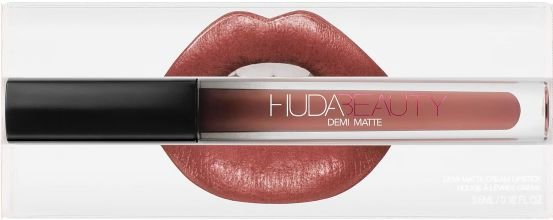 Lipstick Huda Beauty Demi Matte - cor: Sheeo
