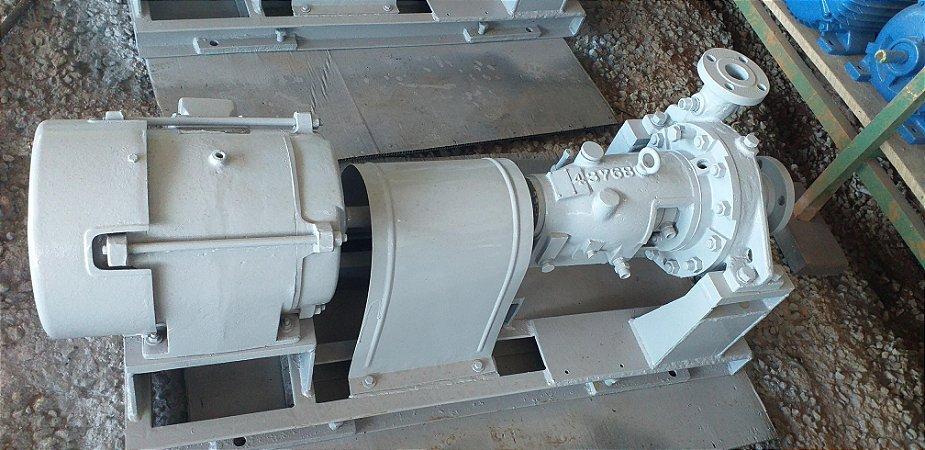 Bomba centrifuga com motor trifásico 7.5 CV