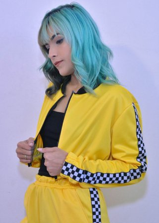 Bomber Cropped Taxi