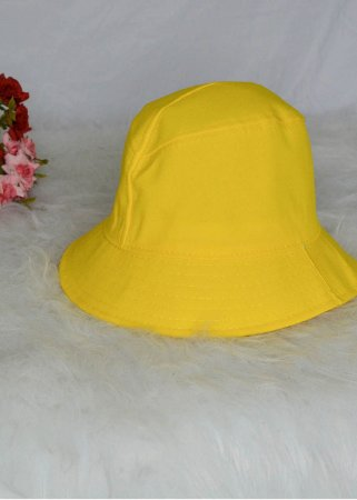 Bucket Hat Amarelo