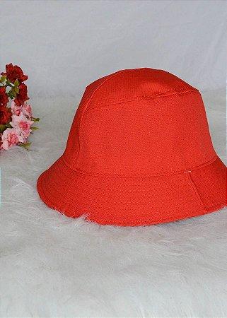 Bucket Hat Vermelho