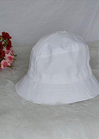 Bucket Hat Branco