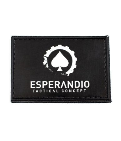 Patch Emborrachado Black Esperandio Tactical Concept ETC
