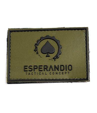 Patch Emborrachado Oliva Esperandio Tactical Concept ETC