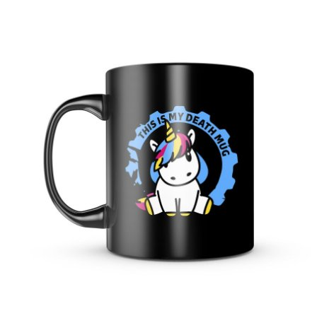 Caneca ETC Unicorn My Death Mug