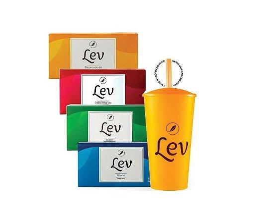 Kit Lev completo + Copo Lev