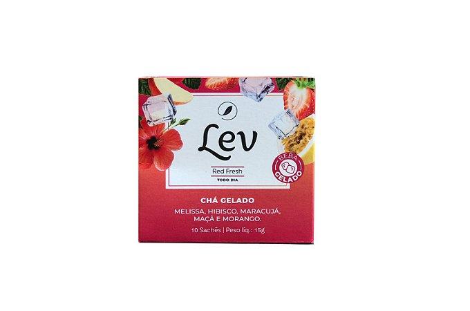 Chá Lev RED FRESH - chá gelado