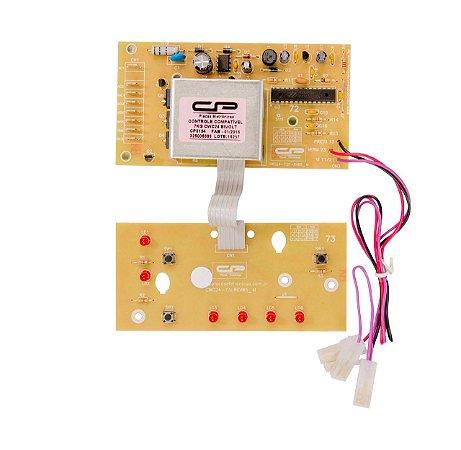 Controle eletrônico compatível lavadora 7kg CWC24 bivolt