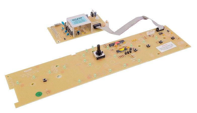 Placa compatível lavadora BWL11_V3 c/potência bivolt/ Interface W10356413