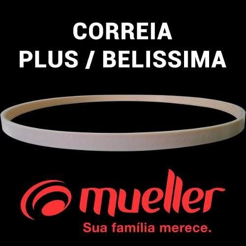 Correia Lavadora Tanquinho Mueller Plus / Belissima