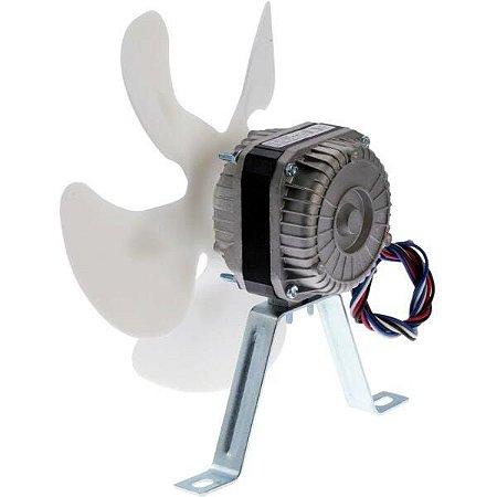Micro Motor Ventilador Frezzer Elgin 1/25 Hélice Plástico