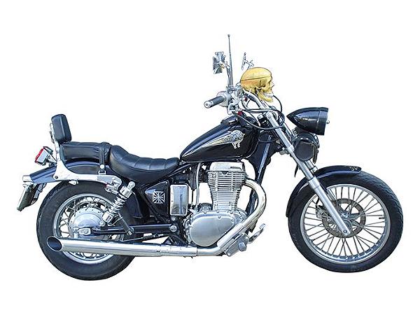 "Ponteira do Escapamento Torbal Suzuki Savage 650 3"" Todas Corte Lateral"