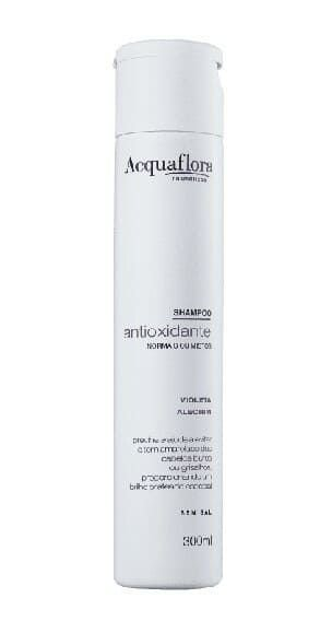 ACQUAFLORA Antioxidante Violeta Alecrim Shampoo para Cabelos Normais ou Mistos 300ml