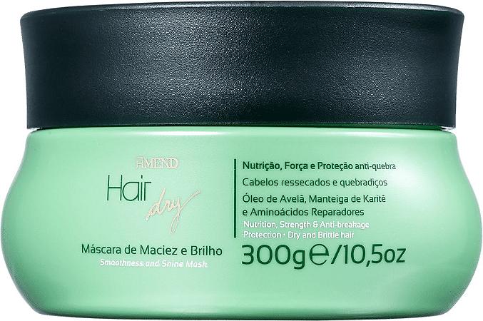 AMEND Hair Dry Máscara Capilar de Maciez do Brilho 300g