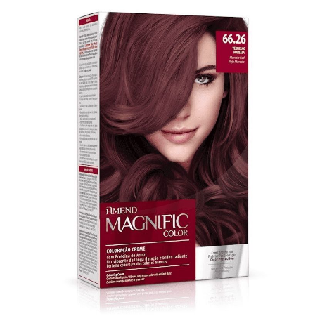 AMEND Magnific Color Coloração 66.26 Vermelho Marsala