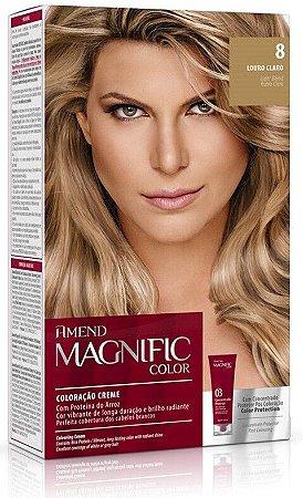 AMEND Magnific Color Coloração 8 Louro Claro