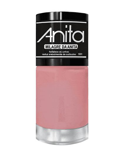 ANITA Esmalte Tratamento Milagre da Anita