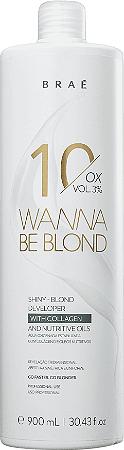 BRAÉ Wanna Be Blond Água Oxigenada 10 Volumes 900ml