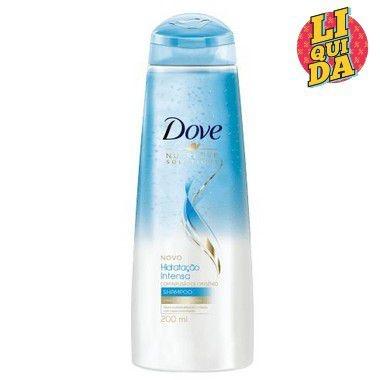 DOVE Hidratação Intensa com Infusão de Oxigênio Shampoo 400ml