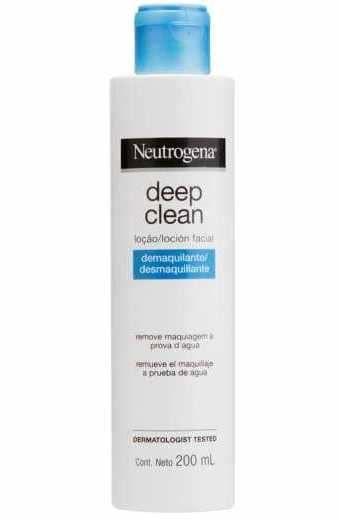 NEUTROGENA Deep Clean Loção Facial Demaquilante 200ml (vencimento 04/21)
