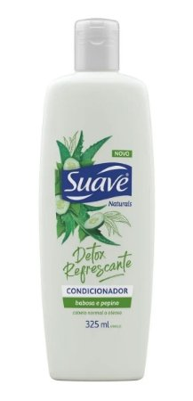 SUAVE Detox Refrescante Condicionador Babosa e Pepino 325ml