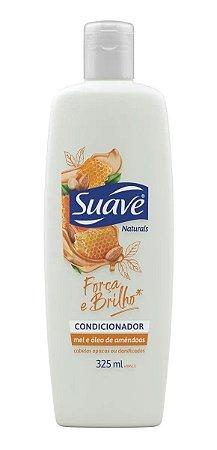 SUAVE Força e Brilho Condicionador Mel e Óleo de Amêndoas 325ml