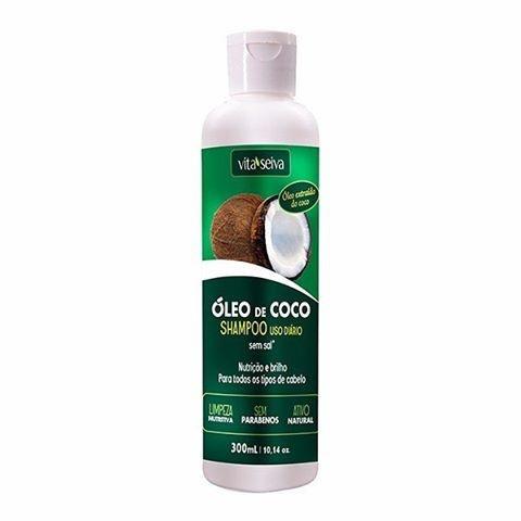 VITA SEIVA Óleo Coco Shampoo 300ml
