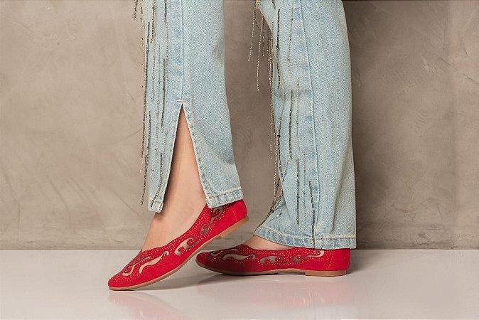 Sapatilha de Moda Feminina Velleza R-801